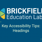 Brickfield Education Labs Thumbnail Headings Tips