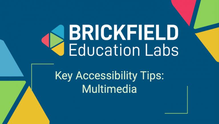 Brickfield Education Labs Thumbnail Multimedia Tips