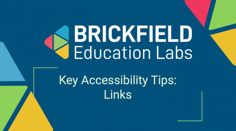 Brickfield Education Labs Thumbnail, Links Tips