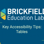 Brickfield Education Labs Thumbnail, Tables Tips
