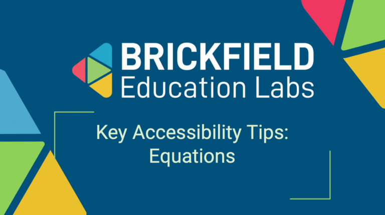 Brickfield Education Labs Thumbnail Equations Tips