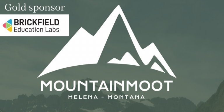 Mountain moot poster with brickfield logo as gold sponsor